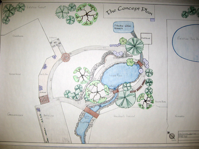 Site Plan Of Habitat Garden ...
