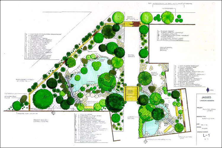 Perfect Site Plan Of The Okayama Garden