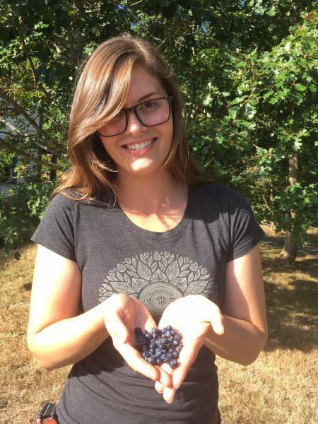 Madeline Clarke, IPPS, VIU Horticulture