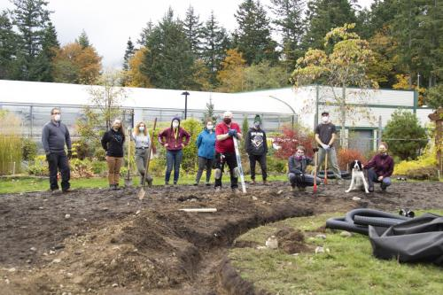 VIU Horticulture, Sharecost Rentals and Sales, Meadow, Pollination, Drought Tolerant, Plants, Students