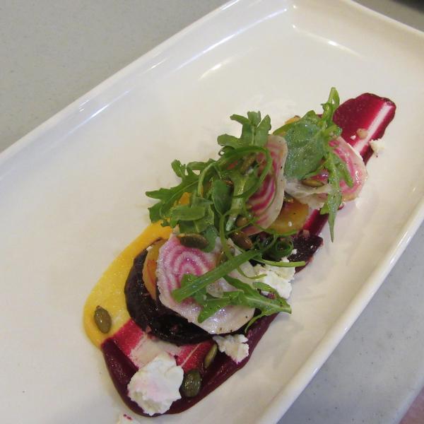 Plated Salad