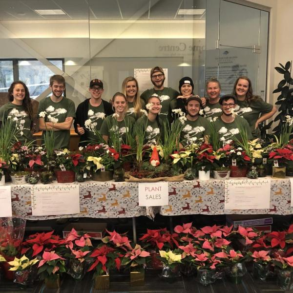 VIU Horticulture, Vancouver Island University, Poinsettia Sales
