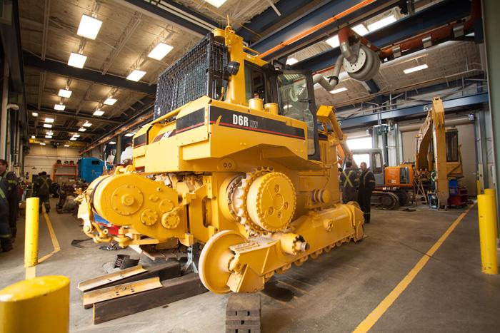 heavy machine mechanic school
